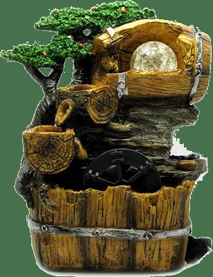 Комнатный фонтан из керамики
