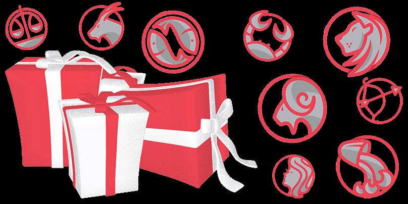 Подарки и знаки зодиака