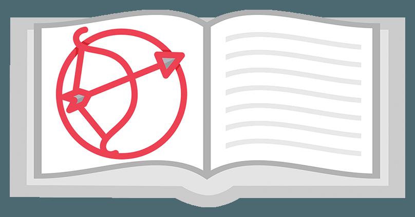Знак зодиака Стрелец - рисунок