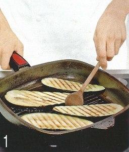 Греческие тосты с баклажаном 1