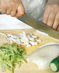 Салат из морской капусты с кальмарами 3