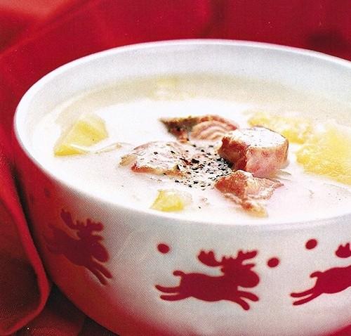 Суп финский рыбный
