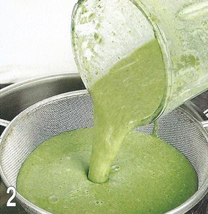 Суп из щавеля с сыром 2