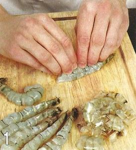 Зразы из рыбы с креветками 1