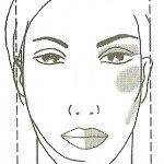 Макияж прямоугольного лица