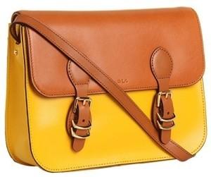 Вместительная прямоугольная сумка через плечо, с длинными лямками