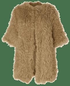 Пальто из искуственого меха