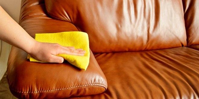 Как убрать пятна с мягкой мебели