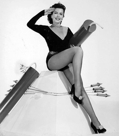 Энн Миллер была американской актрисой и танцовщицей