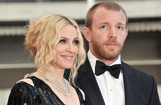 Мадонна с Гаем Ричи