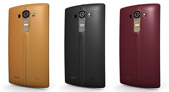 LG G4 Главным его элементом стало исполнение задней крышки гаджета из натуральной кожи