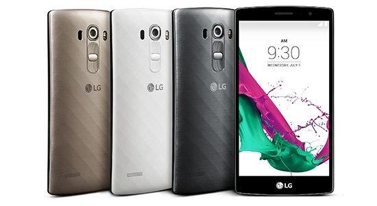 LG G4 Смартфон можно также приобрести и с задней крышкой из пластика