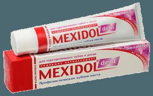 Зубная паста красная
