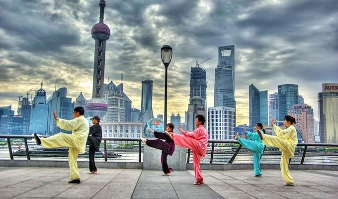 Китай - культ вежливости и здоровья
