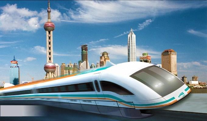 Шанхай - самый быстрый на планете поезд