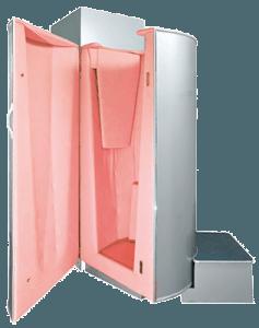 Криосауна серая с розовым