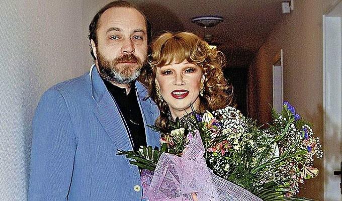 Людмила Гурченко и Сергей Михайлович Сенин