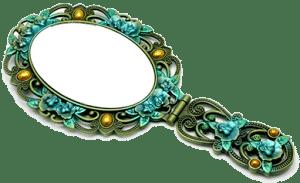 Зеркало с ручкой