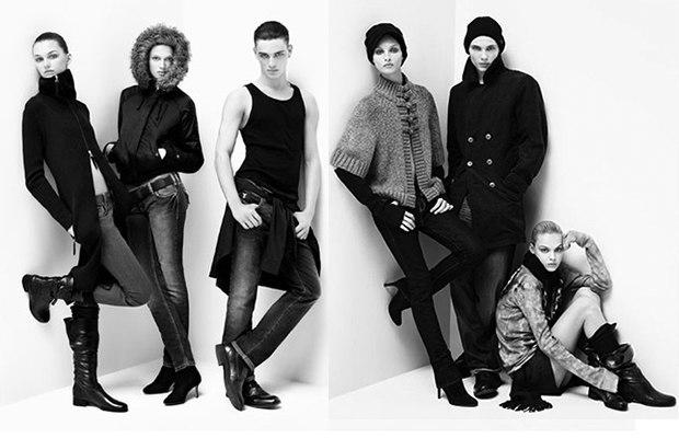 Кельвин Кляйн «позволил» модницам еще больше - предложил стиль «унисекс»