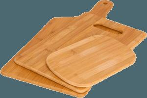 Три деревянные разделочные доски