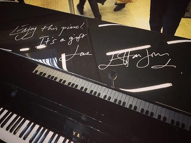«Публичное» пианино Yamaha