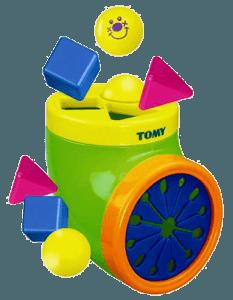 Игра-сортер «Волшебный мешочек» для малышей