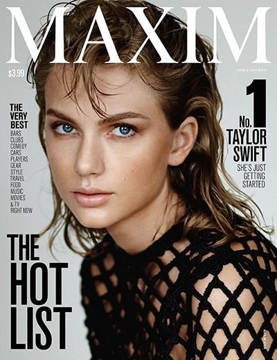 Тейлор Свифт на обложке Maxim