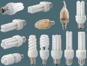 Разные люминесцентные лампы