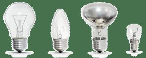 Обычные лампы накаливания