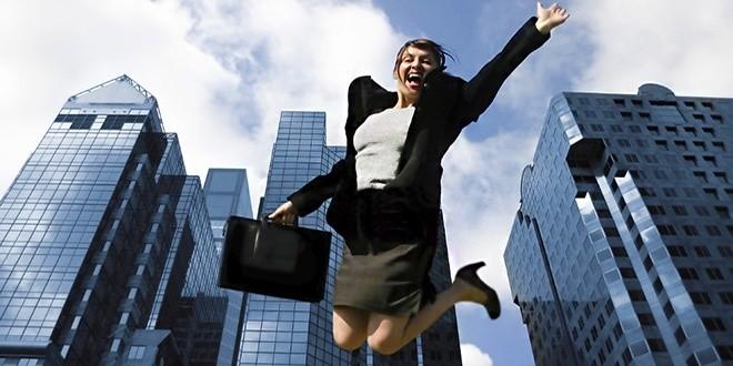 Женщина добилась успеха в мегаполисе