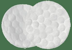 Белые ватные диски