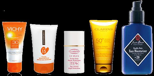 Крема c SPF разных производителей