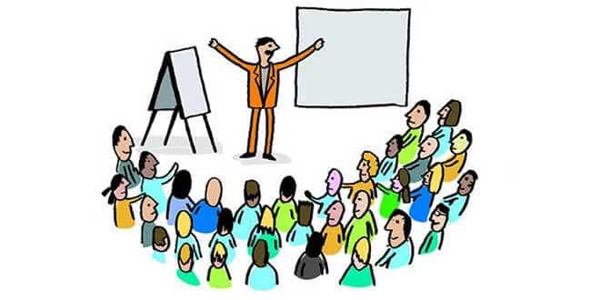 Собрание - рисунок