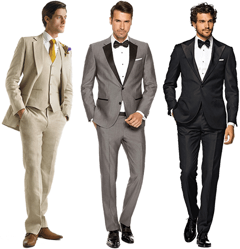 Мужчины в вечерних костюмах