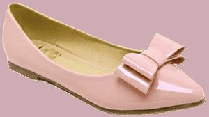 Туфли-лодочки без каблуков