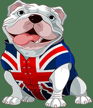 Очень толстая собака - рисунок